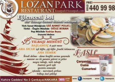Lozan Park Restaurant 2012 Yılbaşı Programı
