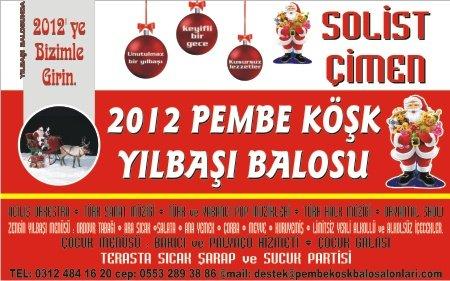 Pembe Köşk 2012 Yılbaşı Programı