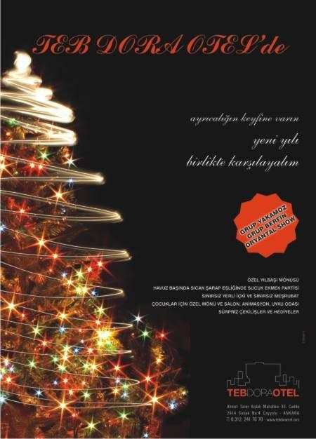 Teb Dora Otel 2012 Yılbaşı Programı
