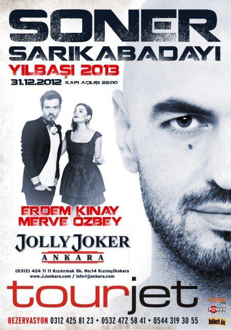 Jolly Joker Ankara 2013 Yılbaşı Programı