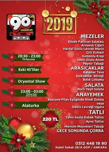 90'lar Ankara Yılbaşı 2019