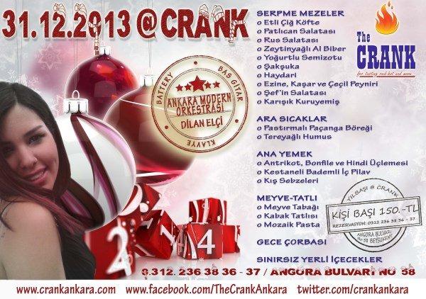 The Crank 2014 Yılbaşı Programı