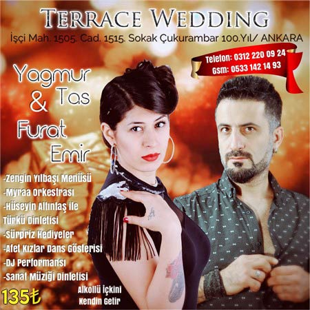 Terrace Wedding Ankara Yılbaşı 2019
