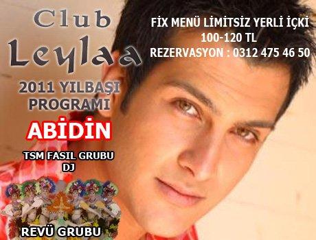 Club Leylaa 2011 Yılbaşı Programı