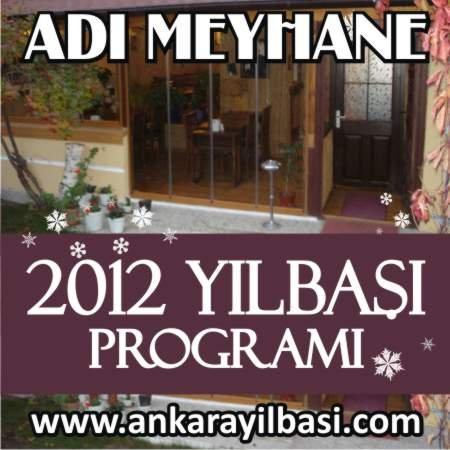 Adı Meyhane 2012 Yılbaşı Programı