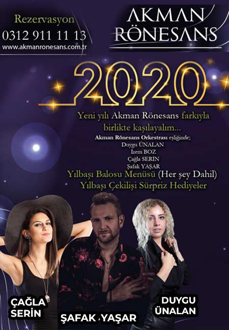 Akman Rönesans Yılbaşı 2020