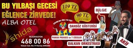 Alba Otel 2014 Yılbaşı Programı