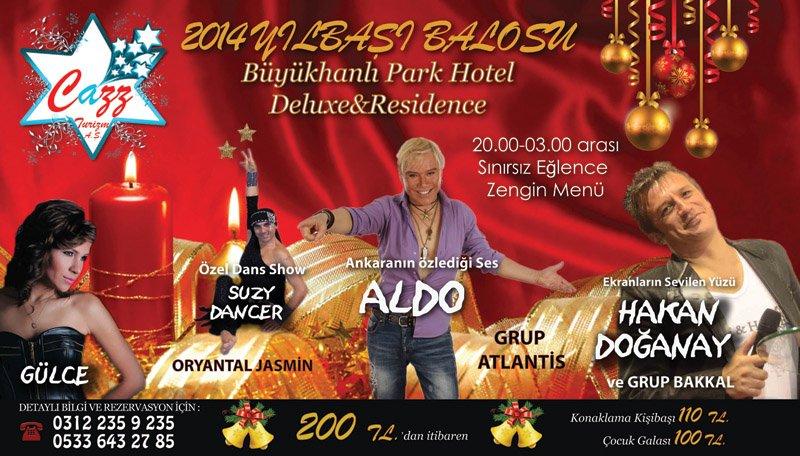 Büyükhanlı Park Otel 2014 Yılbaşı Programı