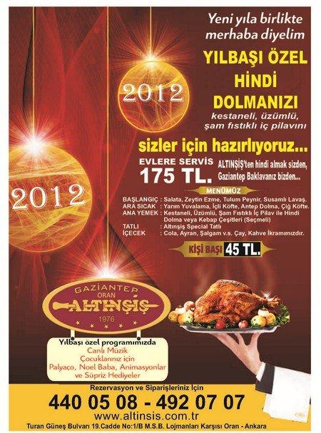 Altınşiş 2012 Yılbaşı Programı