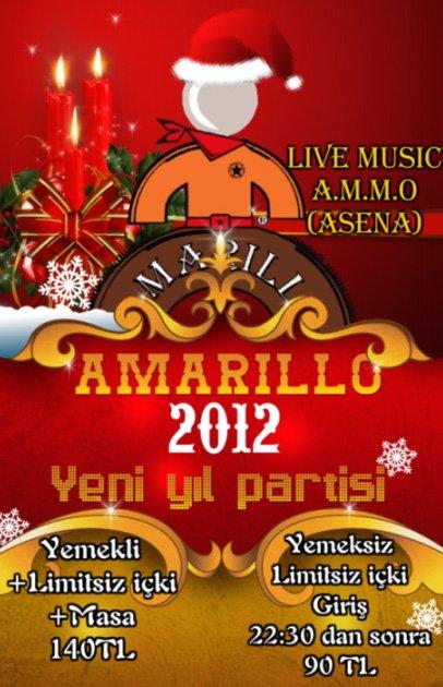 Amarillo 2012 Yılbaşı Programı