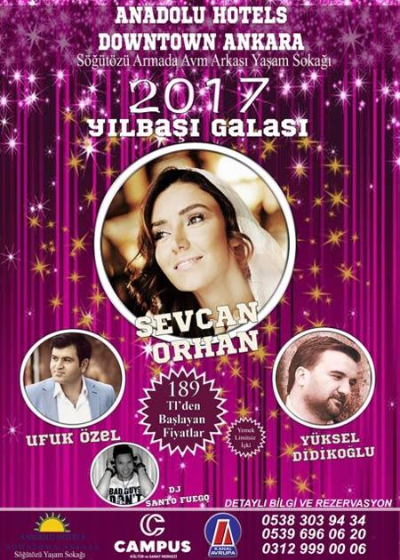 Anadolu Otel Yılbaşı Programı 2017