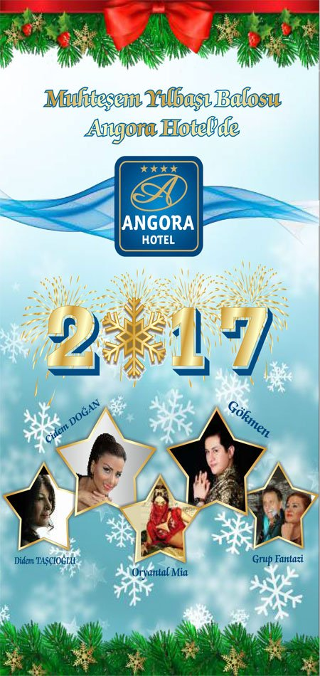 Angora Hotel Yılbaşı Programı 2017