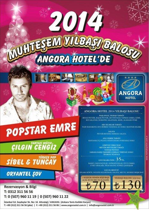 Angora Otel 2014 Yılbaşı Programı