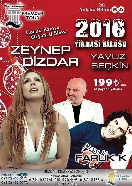 Ankara Hilton Yılbaşı - Zeynep Dizdar