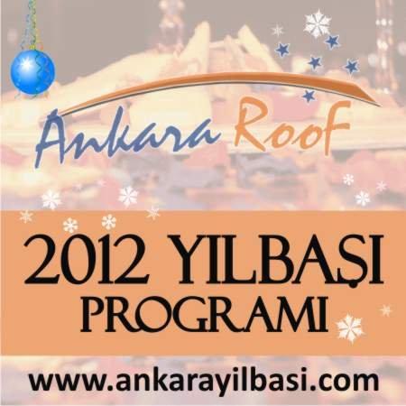 Ankara Roof 2012 Yılbaşı Programı