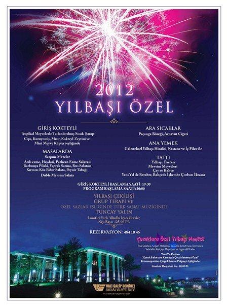 Gölbaşı Vilayetler Evi 2012 Yılbaşı Programı