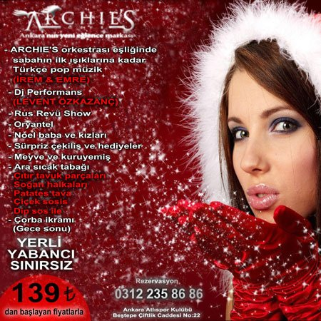 Archie's Club 2013 Yılbaşı Programı