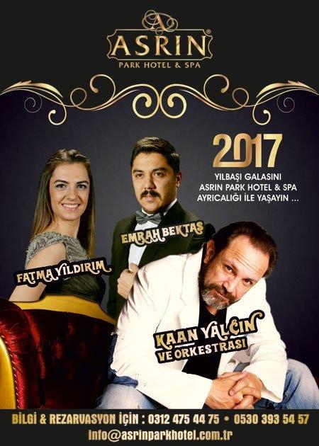 Asrın Park Otel Yılbaşı Programı 2017