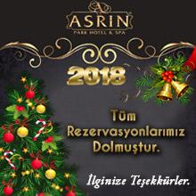 Asrın Park Otel Yılbaşı 2018