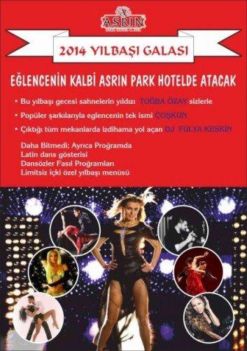 Asrın Park Otel 2014 Yılbaşı Programı