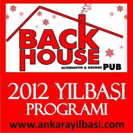 Back House Rock Bar 2012 Yılbaşı Programı