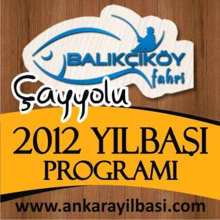 Balıkçıköy Çayyolu 2012 Yılbaşı Programı