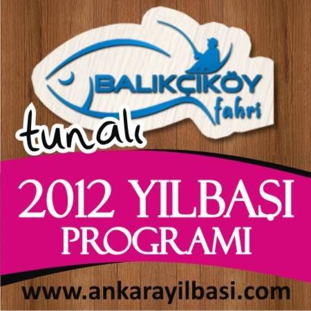 Balıkçıköy Tunalı 2012 Yılbaşı Programı