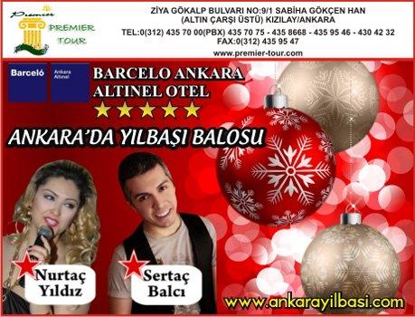 Barcelo Altınel Otel 2011 Yılbaşı Balosu Programı