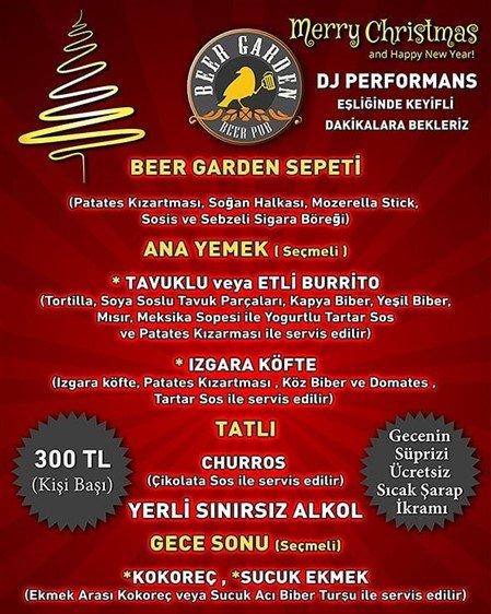 Beer Garden Bilkent Yılbaşı 2020