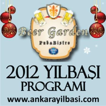 Beer Garden 2012 Yılbaşı Programı