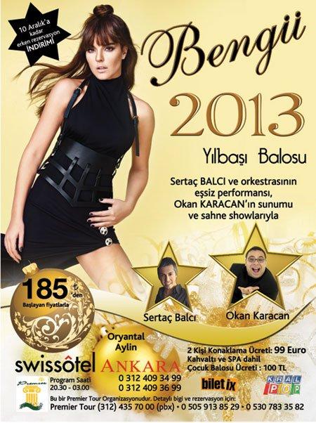 Swiss Otel Ankara 2013 Yılbaşı Programı