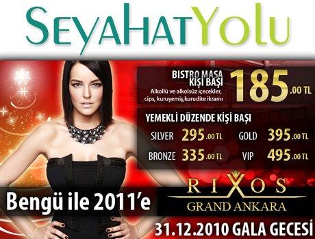 Bengü ile 2011 Yılbaşı @ Rixos Grand Ankara