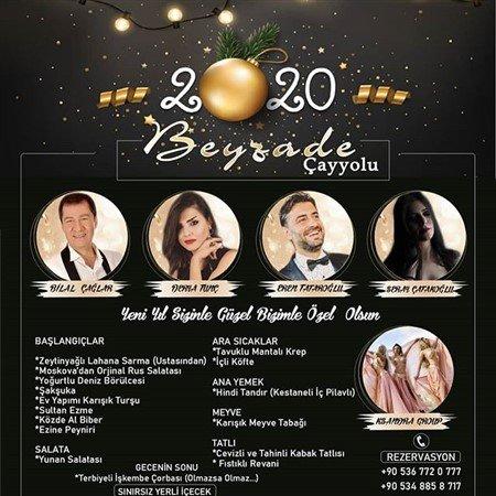Beyzade Ocakbaşı Çayyolu Yılbaşı Programı 2020