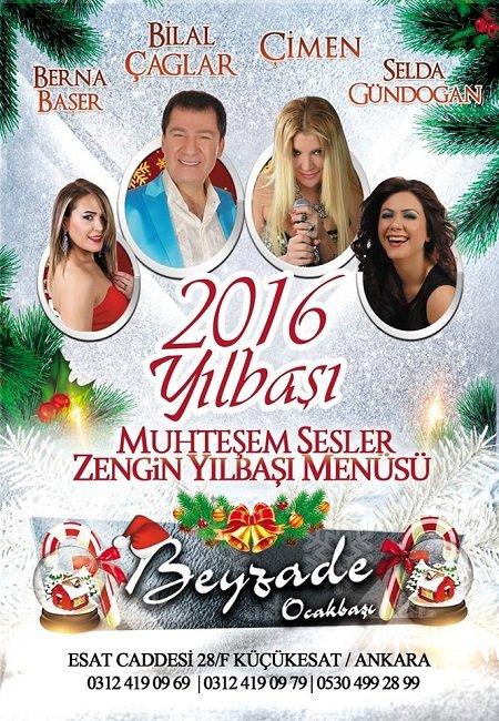Beyzade Ocakbaşı Yılbaşı Programı 2016