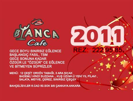 Bianca Cafe 2011 Yılbaşı Programı