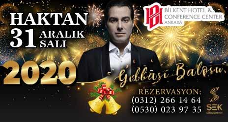Bilkent Hotel Ankara Yılbaşı 2020