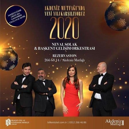 Bilkent Otel Akdeniz Mutfağı Yılbaşı 2020
