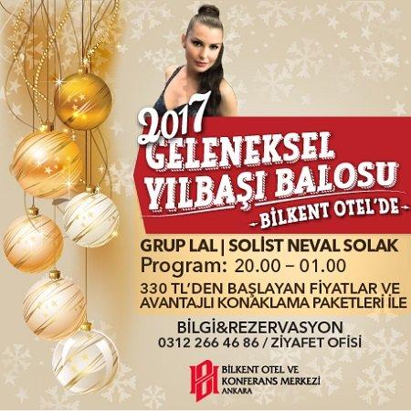 Bilkent Otel Ankara Yılbaşı 2017
