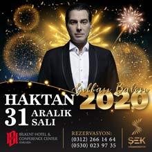 Bilkent Otel Ankara Yılbaşı 2020