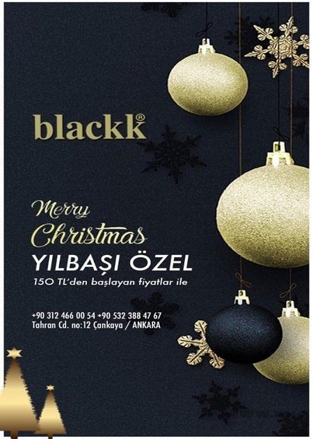 Blackk Ankara Yılbaşı 2019