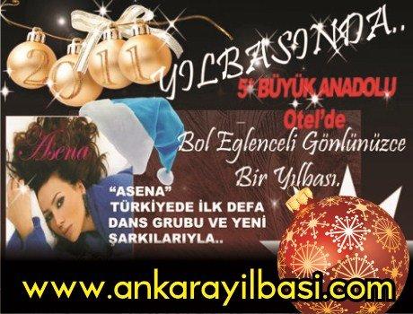 Büyük Anadolu Oteli 2011 Yılbaşı – Asena 2011 Yılbaşı Programı