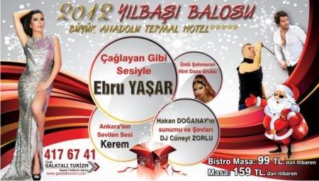 Büyük Anadolu Oteli 2012 Yılbaşı Programı