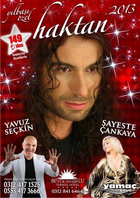 Büyük Anadolu Oteli 2013 Yılbaşı Programı