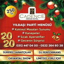 Cadence Hotel Ankara Yılbaşı 2020