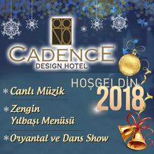 Cadence Hotel Ankara Yılbaşı 2018