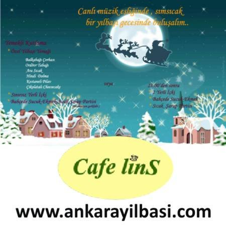 Cafe Lins 2012 Yılbaşı Programı
