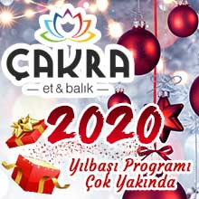 Çakra Restaurant Yılbaşı 2020