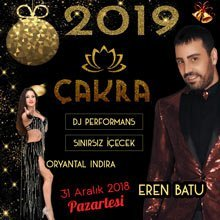Çakra Restaurant Yılbaşı 2019
