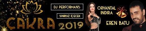 Çakra Restaurant Yılbaşı Programı 2019
