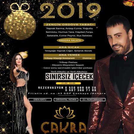 Çakra Restoran GOP Ankara Yılbaşı 2019